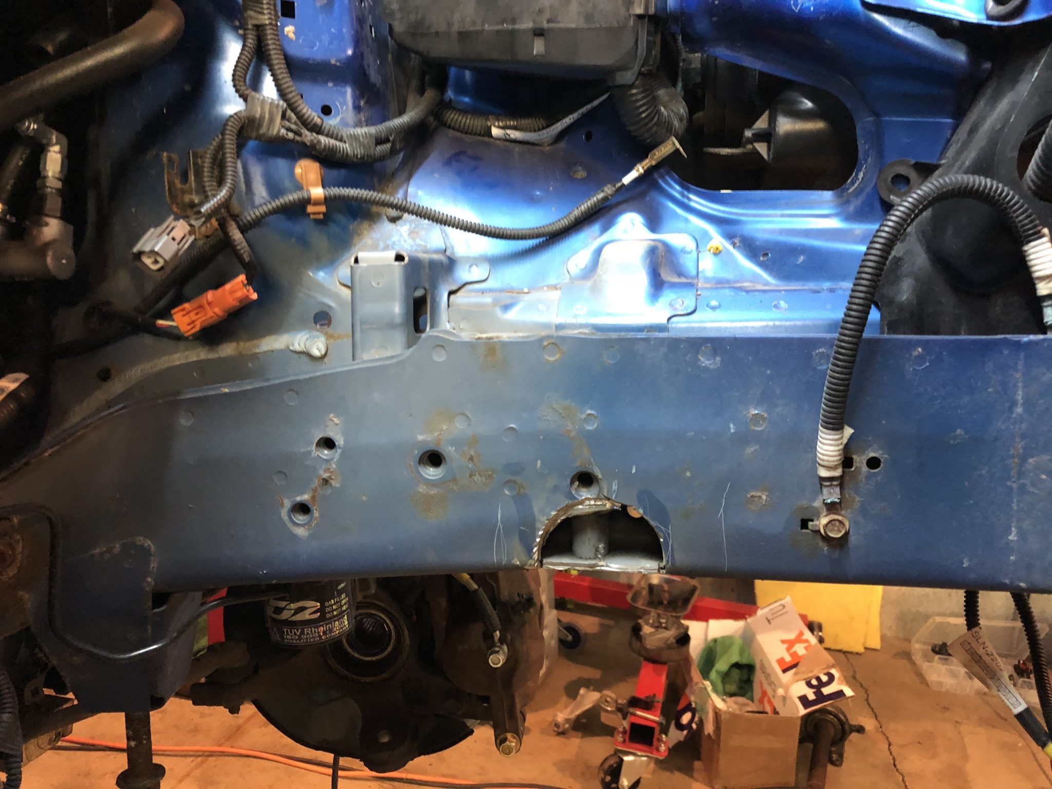 K20 / K24 Honda Fit Swap Info (GD3)